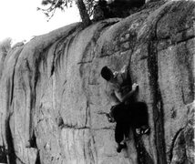 Rock Climbing Photo: Dan Schwarz overcoming the ascent into Holy Madnes...
