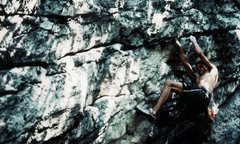 Rock Climbing Photo:  working The Big Shadizz, The Trapps, Gunks, NY 19...