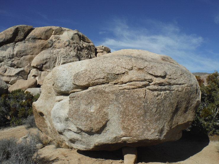The Zarmog boulder