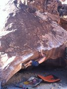 Rock Climbing Photo: back country at the kraft boulders