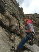 Rock Climbing Photo: A 70m rope is a good idea. We had only a bit to sp...