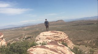 Top of calico basin