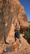 Rock Climbing Photo: Gallery belaying
