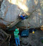 Rock Climbing Photo: The Sheild LRC