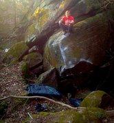 Rock Climbing Photo: FA of Backseat Betty, CYVNP OH