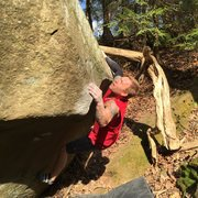 Rock Climbing Photo: Second Ascent of the EGG brecksville OH