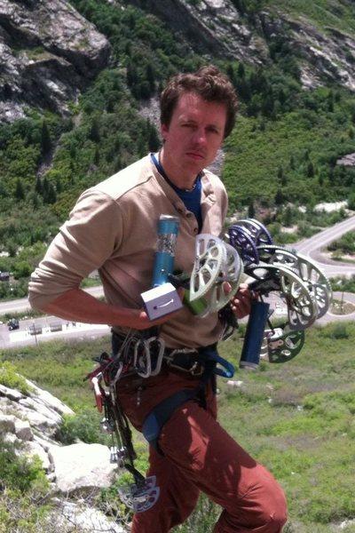 Rock Climbing Photo: PREPARE FOR GLORY!