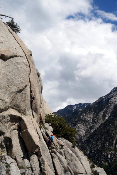 Rock Climbing Photo: The Hack Attacks attacks Burner.