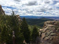 Rock Climbing Photo: Devils Head, CO