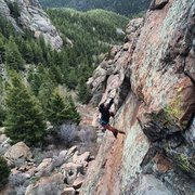 Rock Climbing Photo: Most fun on a 5.6 I've ever had. :)