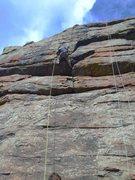 Rock Climbing Photo: Phil looking like a bad ass. ;)