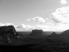 Rock Climbing Photo: Gibralter, Courthouse Butte, Bell Rock