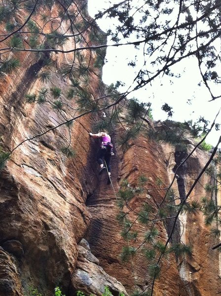 A.Maryn in the upper dihedral of Lion's Bait