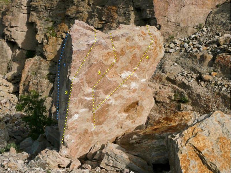 Rock Climbing Photo: 1) Goat Cheese 2) Sakura 3) Feta 4) The Big Cheese