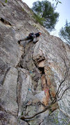 Rock Climbing Photo: more of Front C start