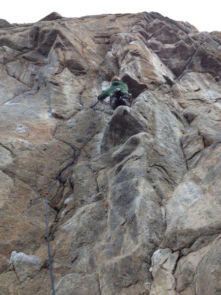 Rock Climbing Photo: Elanor.