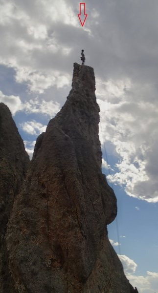 Roadside pinnacle