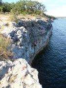 Rock Climbing Photo: Pace Bend Park Spicewood, TX DWS