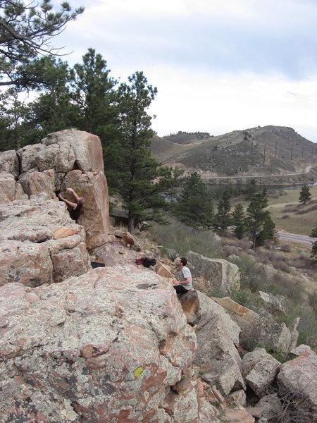 Piano Boulders Fort Collins, CO Horsetooth Reservoir Area