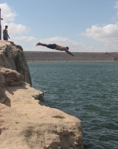 Lake Georgetown TX DWS Descent...