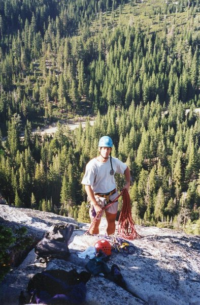 Rock Climbing Photo: Lovers Leap 1999