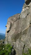 Rock Climbing Photo: The West Face of the Old Rag summit area.