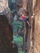 Rock Climbing Photo: snow canyon climbing