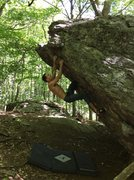 Rock Climbing Photo: Decent route