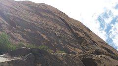 Rock Climbing Photo: The big corner.