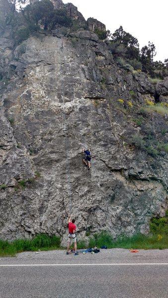 Rock Climbing Photo: Climbing KFC