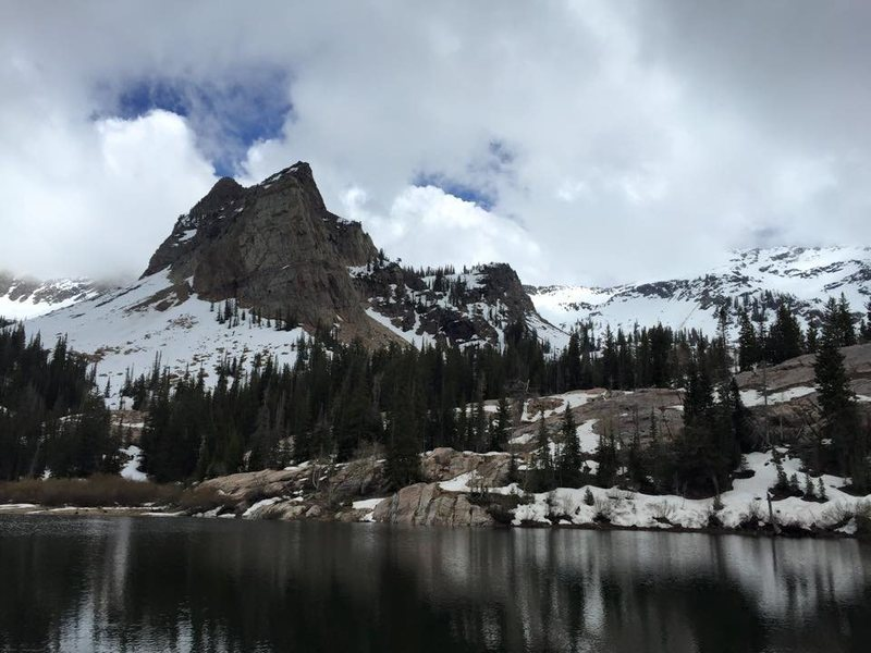 Rock Climbing Photo: lake blanche and sundial peak