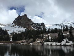 lake blanche and sundial peak