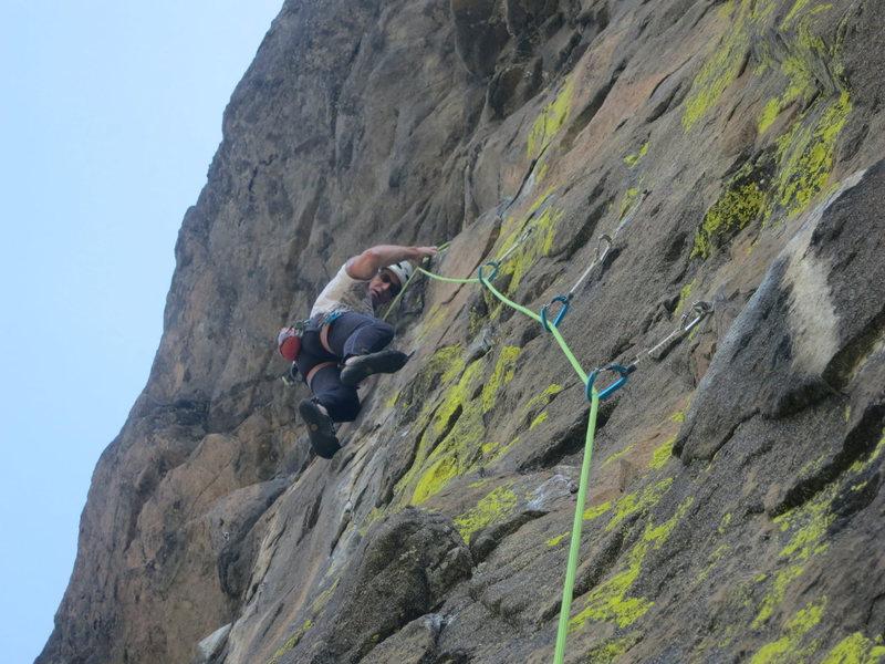 Rock Climbing Photo: Tom Michael sending