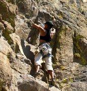 Rock Climbing Photo: Big Chief - War Path