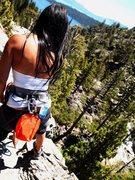 Rock Climbing Photo: 90 Ft. Wall - Eagle Lake, Tahoe