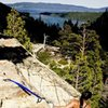 90 ft. Wall - Eagle Lake, Tahoe<br>