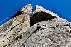 Rock Climbing Photo: Phantom Spires - Tahoe Corn Flakes