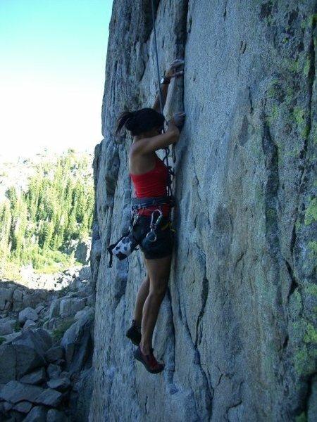 Rock Climbing Photo: Donner Summit - N. Tahoe Mamma Bear 11b