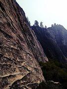 Rock Climbing Photo: Lovers Leap - Tahoe East Wall