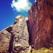 Rock Climbing Photo: Owens River Gorge Middle Gorge
