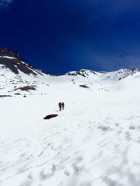 avalanche Gulche<br> South Side