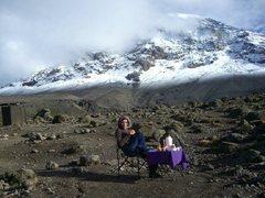 Rock Climbing Photo: Mt. Kilimanjaro  Lemosho Shira Route - Winter Asce...