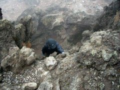 Rock Climbing Photo: Mt. Kilimanjaro  Lemosho Shira Route - Lava Tower