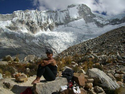 Peruvian Andes - Cordillera Blanca<br> Nevado Pisco High Camp