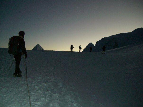 Peruvian Andes - Cordillera Blanca<br> Nevado Pisco