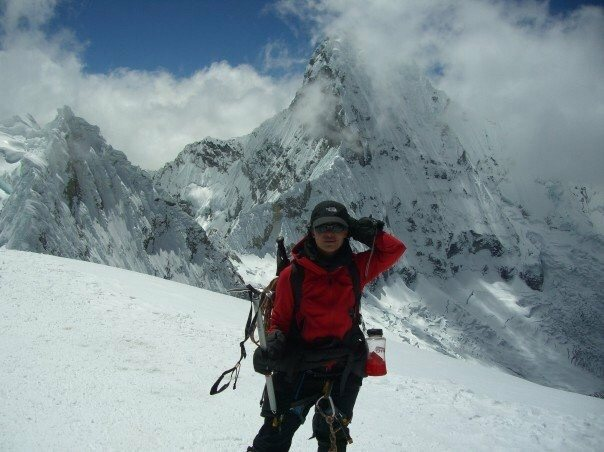 Peruvian Andes - Cordillera Blanca<br> Nevado Pisco Summit