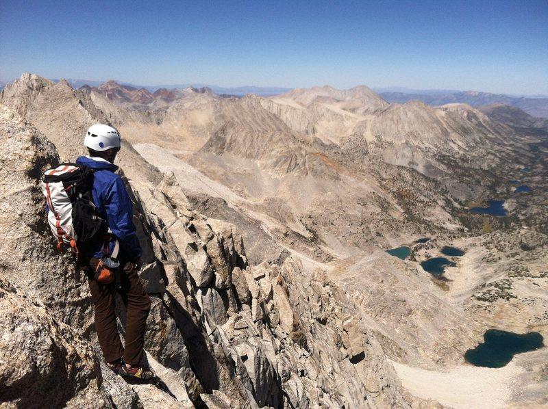 Rock Climbing Photo: The top of Bear Creek Spire