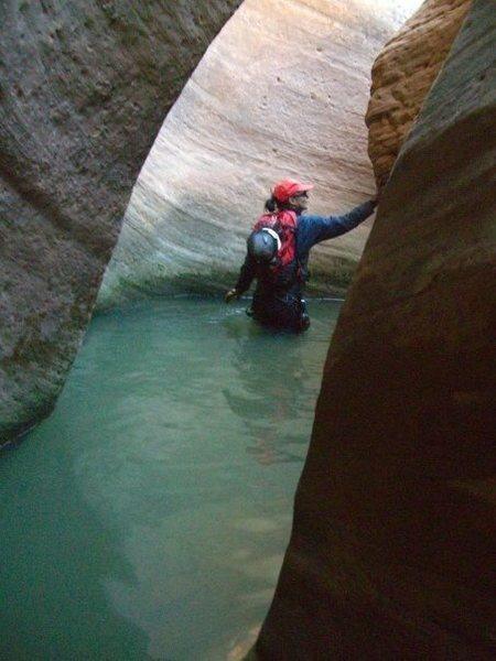 Zion<br> Key hole Canyon