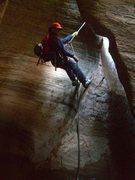 Rock Climbing Photo: Zion Key hole Canyon