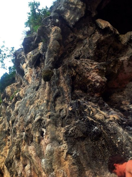 Railay Beach<br> 123 Wall